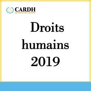 L'état des droits humains en 2019
