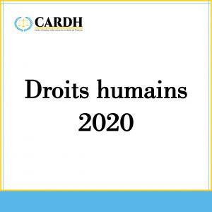L'Etat des droits humains 2020